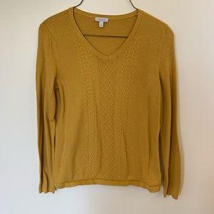 Vintage yellow sweater